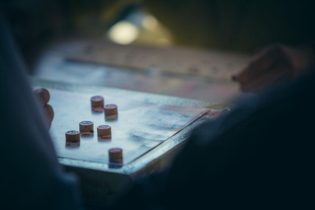 Tombola e giochi da tavolo