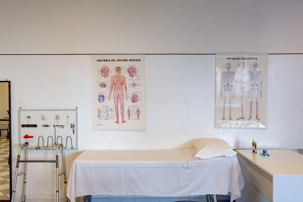 ambulatorio medico e riabilitativo per gli ospiti
